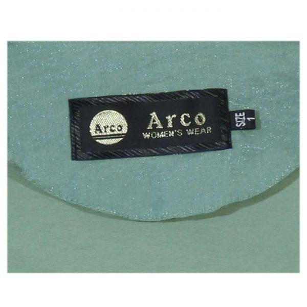مانتو زنانه آرکو مدل سپیده رنگ سبز مغز پسته ای