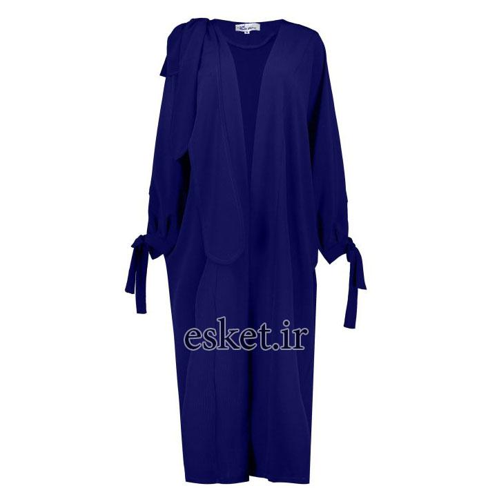 رویه بلند زنانه - ندا پارسی - مانتو آستین کیمونو جدید