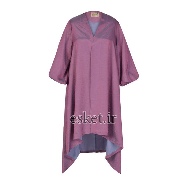 مانتو زنانه مانتو ولیعصر کد 63936 - مانتو آستین کیمونو جدید