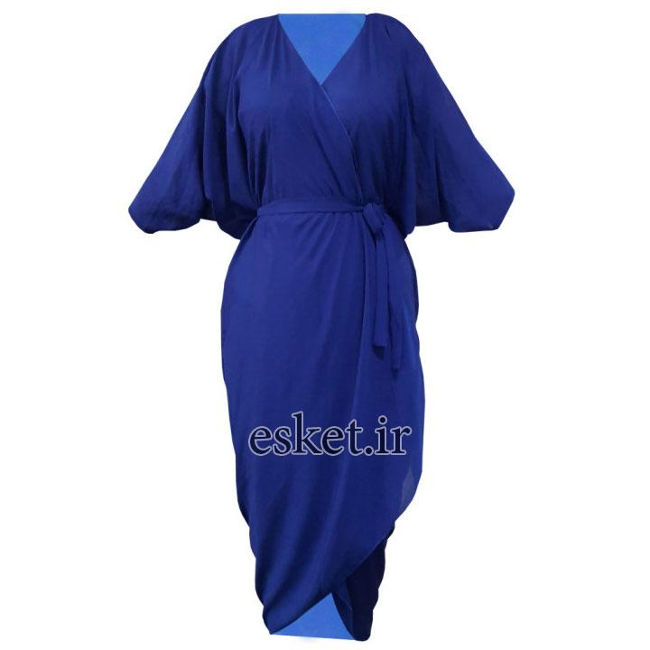 رویه زنانه کد 444 - مانتو آستین کیمونو جدید