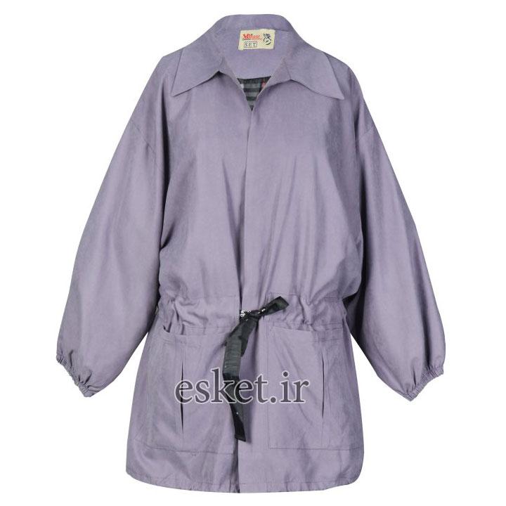 بارانی زنانه مانتو پاییزه جدید شیک مدل هدیه کد 48514