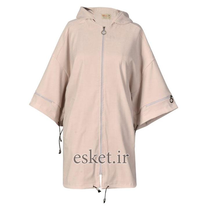 بارانی زنانه مانتو پاییزه جدید شیک مدل آترین کد 49608