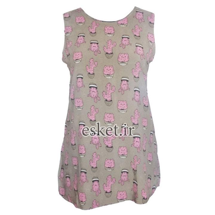 تیشرت دخترانه فانتزی شیک کد CA-LBRO001