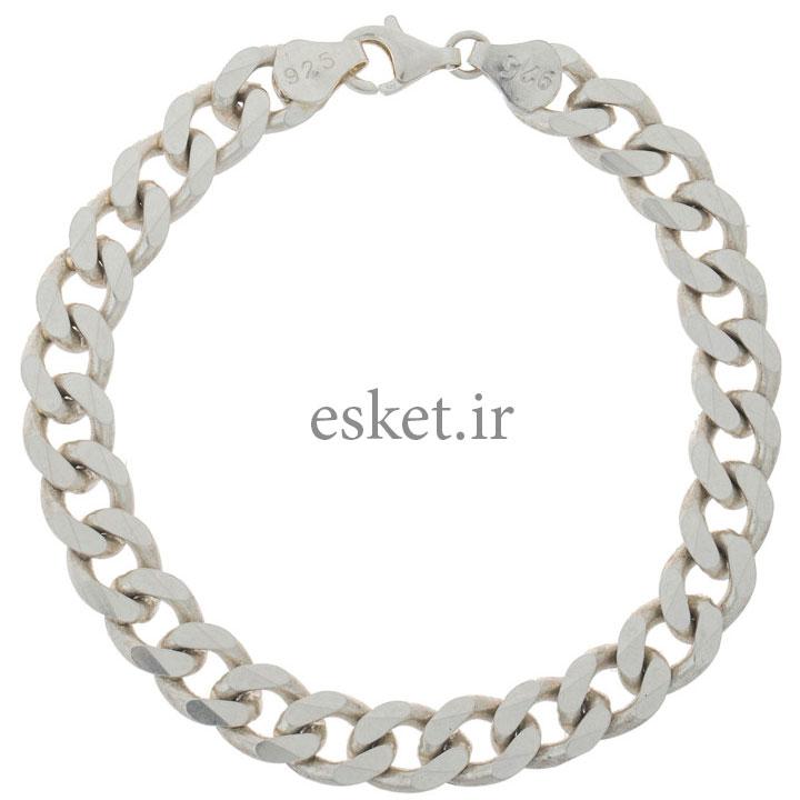 دستبند نقره زنانه زیبا مدل K004