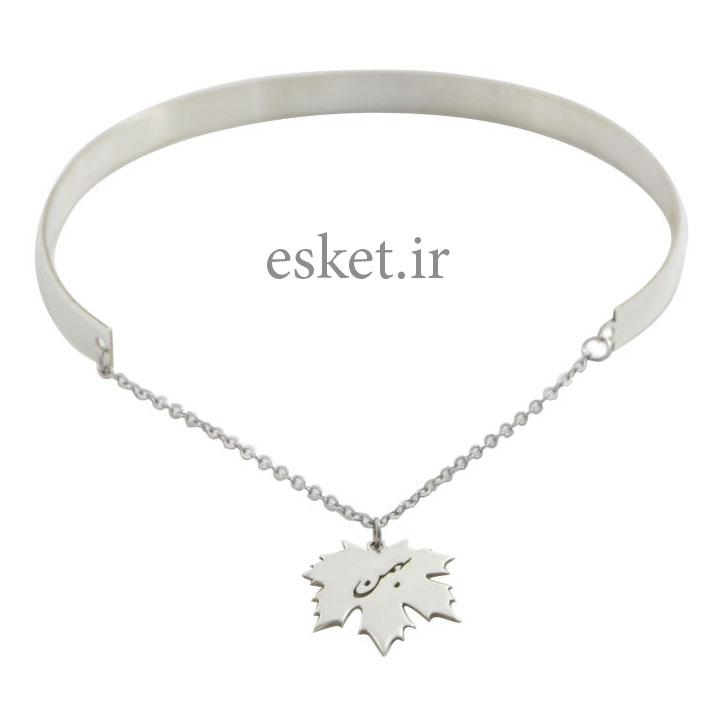 دستبند نقره زنانه زیبا دلی جم طرح بهمنکد D 205