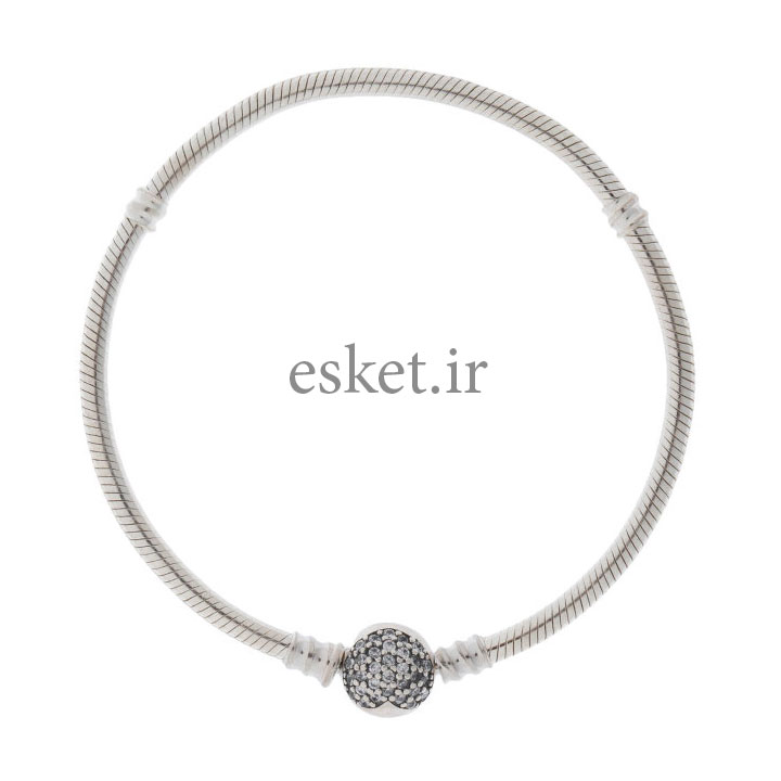 دستبند نقره زنانه زیبا پاندورا مدل OK5007L غیر اصل