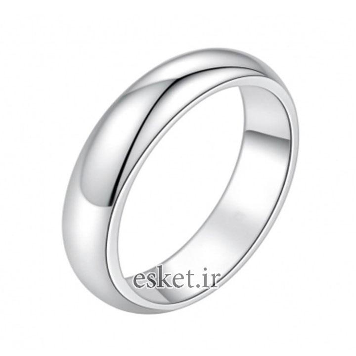 انگشتر نقره زنانه زیبا کد R797