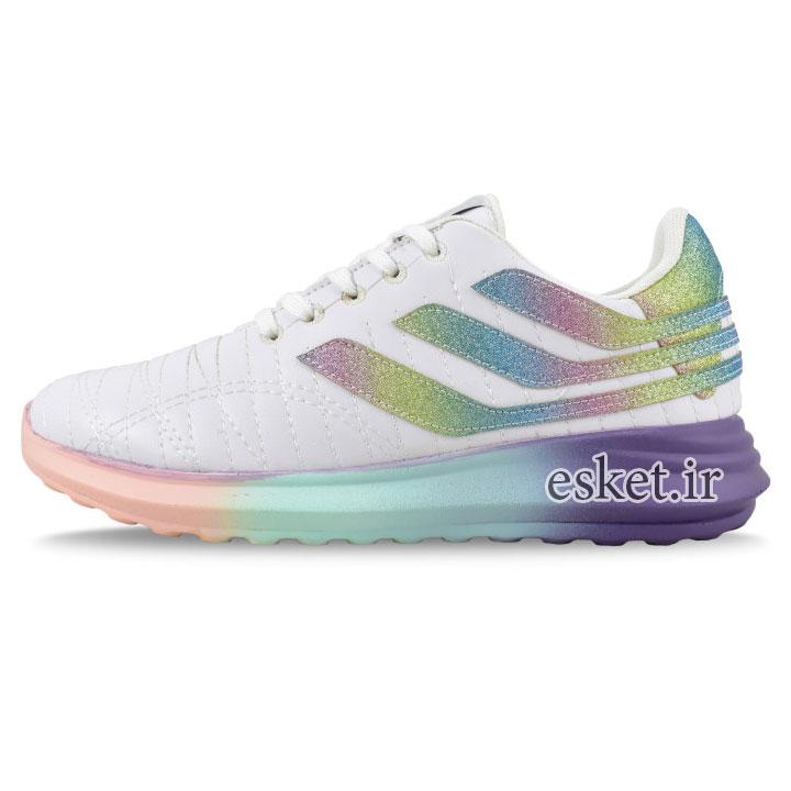 کفش مخصوص پیاده روی زنانه مدل هامون کد 4456 - کفش ورزشی زنانه زیبا