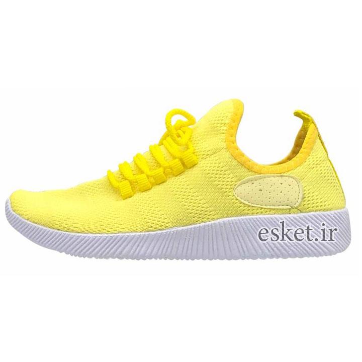 کفش مخصوص پیاده روی زنانه کد 9813 - کفش ورزشی زنانه زیبا