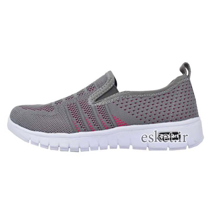 کفش مخصوص پیاده روی زنانه آلبرتینی مدل خوشان کد 7718 - کفش ورزشی زنانه زیبا