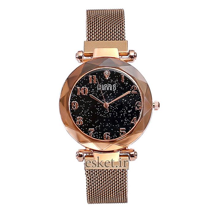 ساعت مچی زنانه زیبا کی ام اس مدل K 910 - RZ-ME