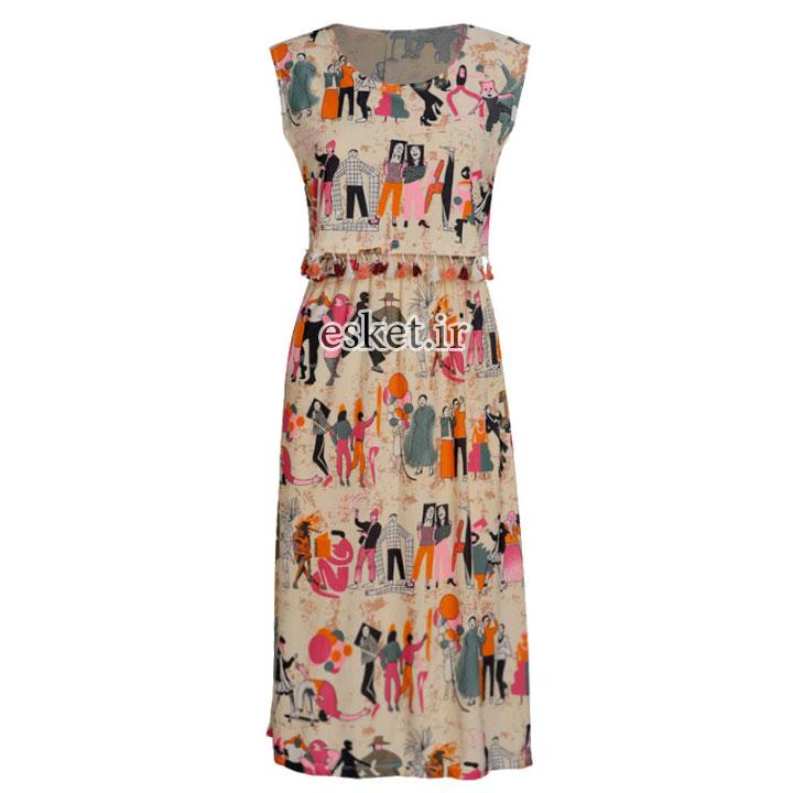 پیراهن مجلسی زنانه ارزان کد 358025509