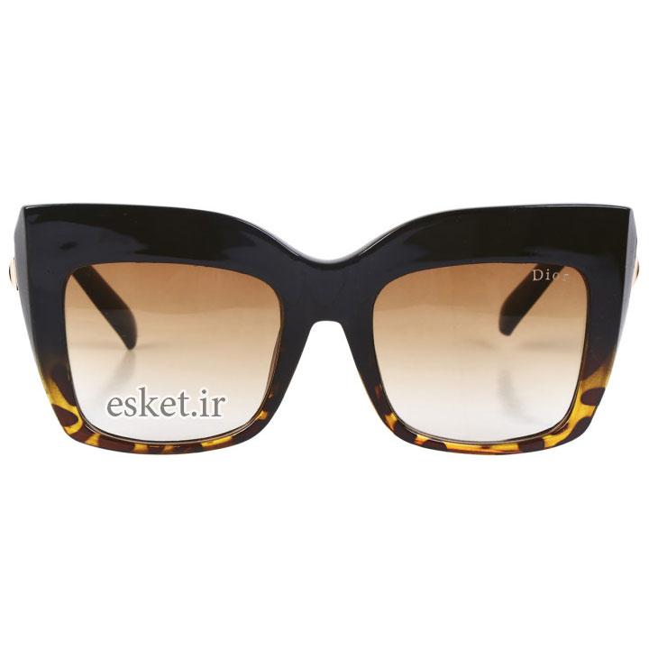 عینک آفتابی زنانه شیک و جدید مدل 1000260 غیر اصل