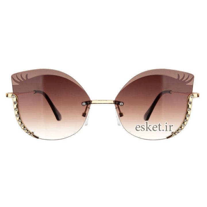 عینک آفتابی زنانه شیک و جدید کد 8884