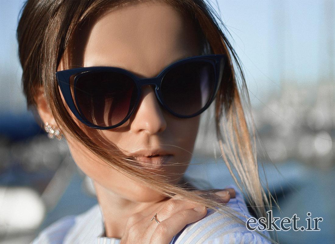 عینک آفتابی زنانه شیک و جدید