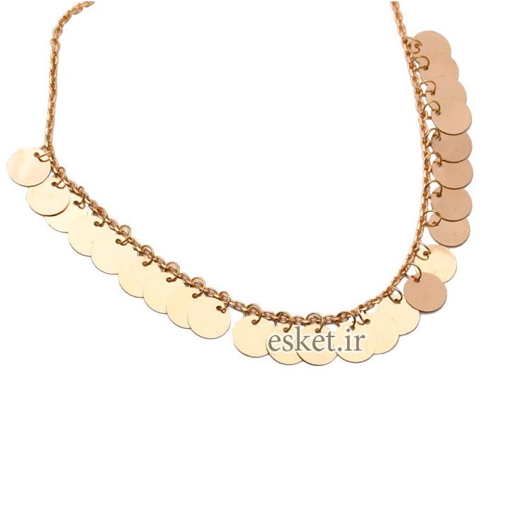 پابند طلا زنانه شیک 18 عیار کد N093