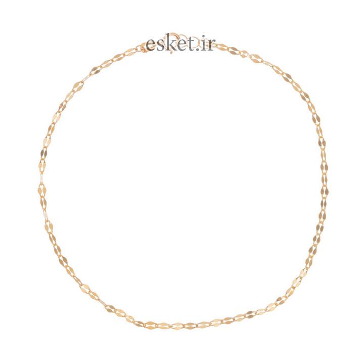 پابند طلا زنانه شیک 18 عیار زنانه مایا ماهک مدل MA0124