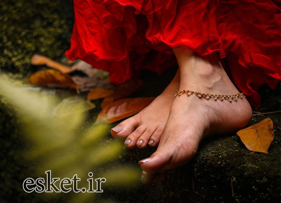 پابند طلا زنانه شیک