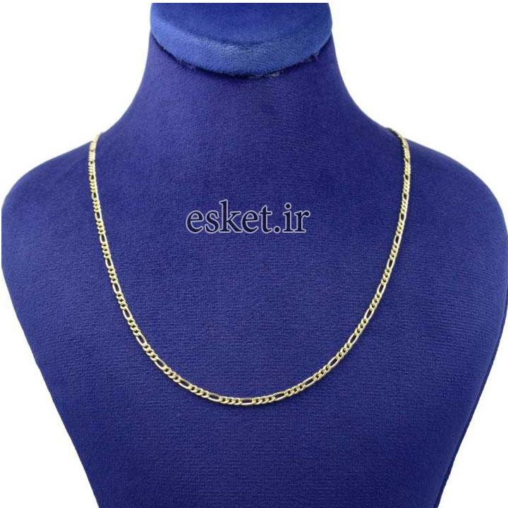 زنجیر طلا زنانه شیک 18عیار کانیار گالری کد Z3