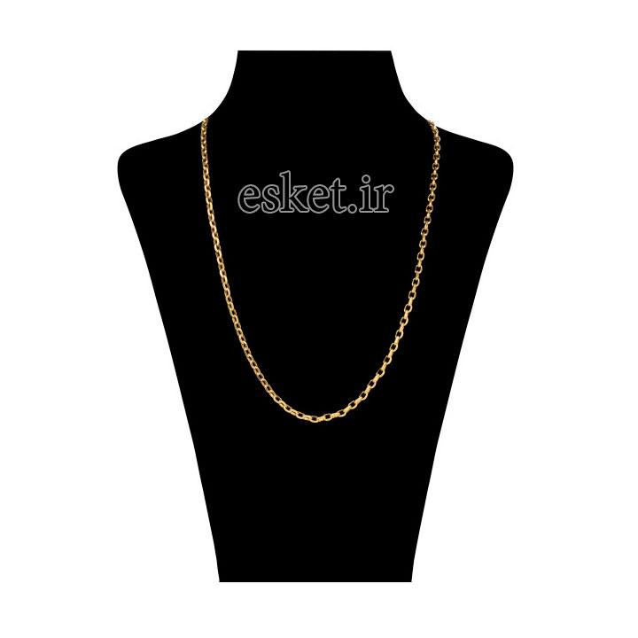 زنجیر طلا زنانه شیک 18 عیار آلند کد TZ28