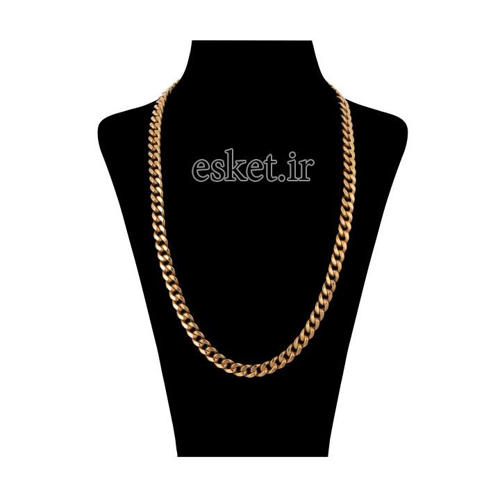 زنجیر طلا زنانه شیک 18 عیار مایا ماهک مدل ZMM1013