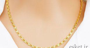 زنجیر طلا زنانه شیک