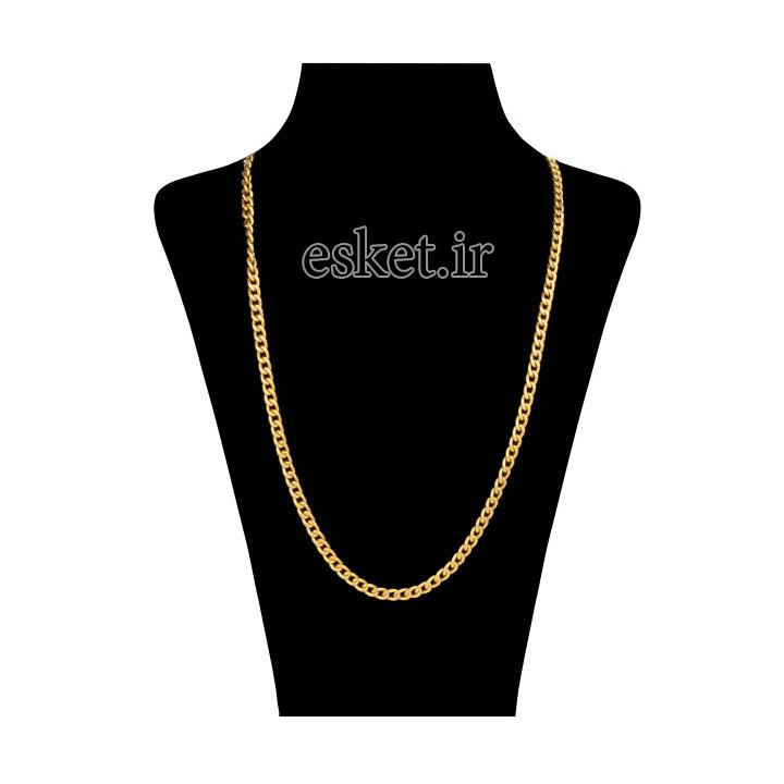 زنجیر طلا زنانه شیک 18 عیار آلند کد TGA46