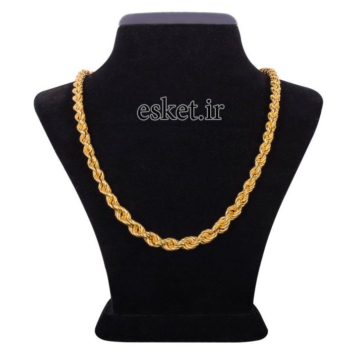 زنجیر طلا زنانه شیک 18عیار کد Z117