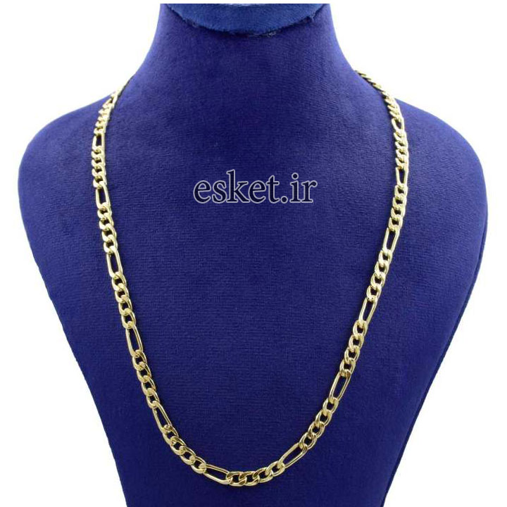 زنجیر طلا زنانه شیک 18 عیار کانیار گالری کد F45