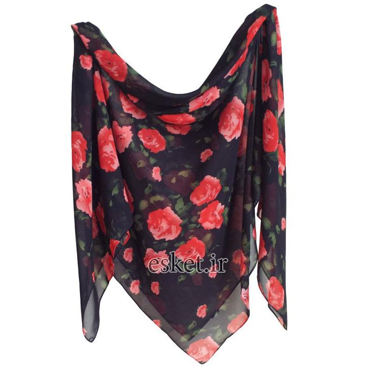 روسری زنانه زیبا و جدید تبسم کد 1011101
