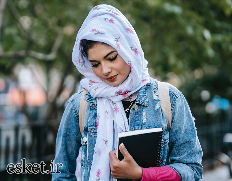 روسری زنانه زیبا و جدید