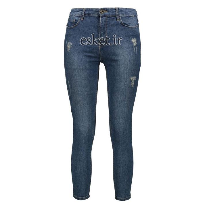 شلوار جین زنانه زیبا و جذاب کد 671-27