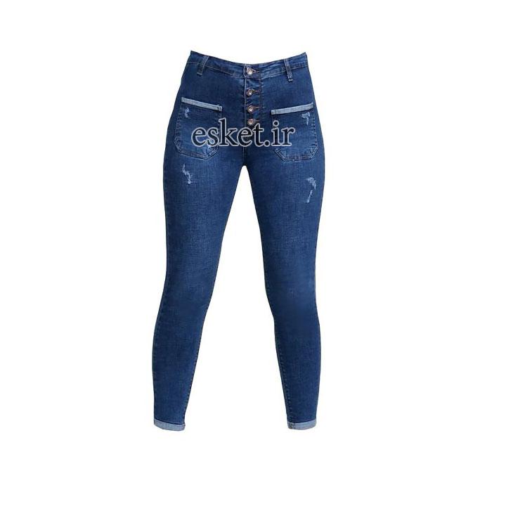 شلوار جین زنانه زیبا و جذاب کد Z813