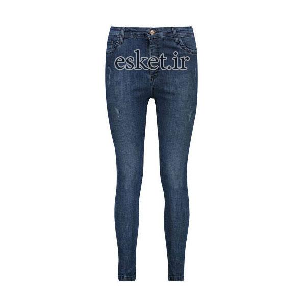 شلوار جین زنانه زیبا و جذاب مدل کارا کد 2054