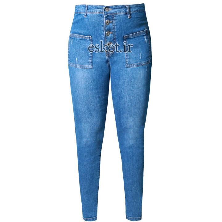 شلوار جین زنانه زیبا و جذاب کد 112
