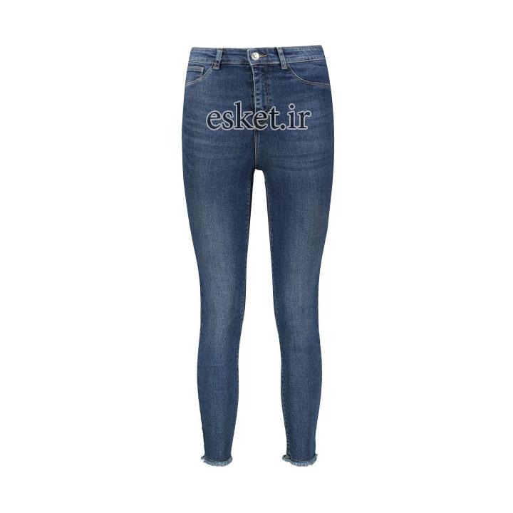 شلوار جین زنانه زیبا و جذاب ال سی وایکیکی مدل 0SF317Z8-507-MIDRODEO