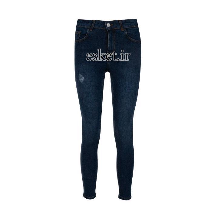 شلوار جین زنانه زیبا و جذاب آر ان اس مدل 104094-59