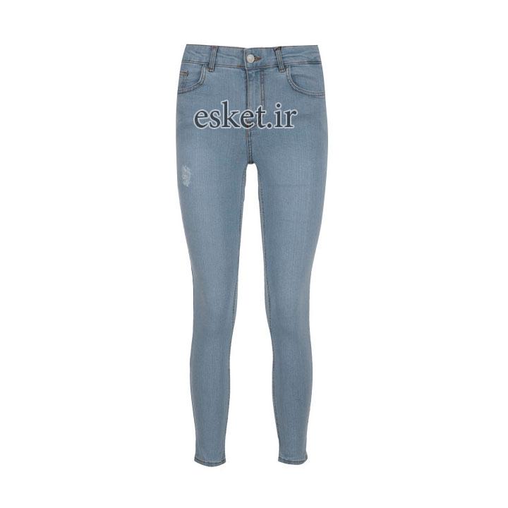 شلوار جین زنانه زیبا و جذاب آر ان اس مدل 104094-50