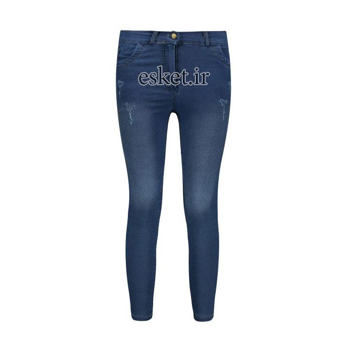 شلوار جین زنانه زیبا و جذاب غزال کد sm019