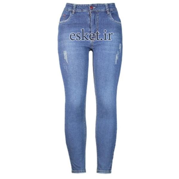 شلوار جین زنانه زیبا و جذاب مدل m312