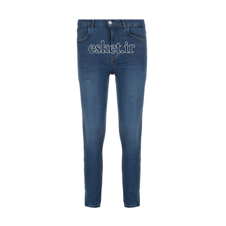شلوار جین زنانه زیبا و جذاب آر ان اس مدل 104094-58