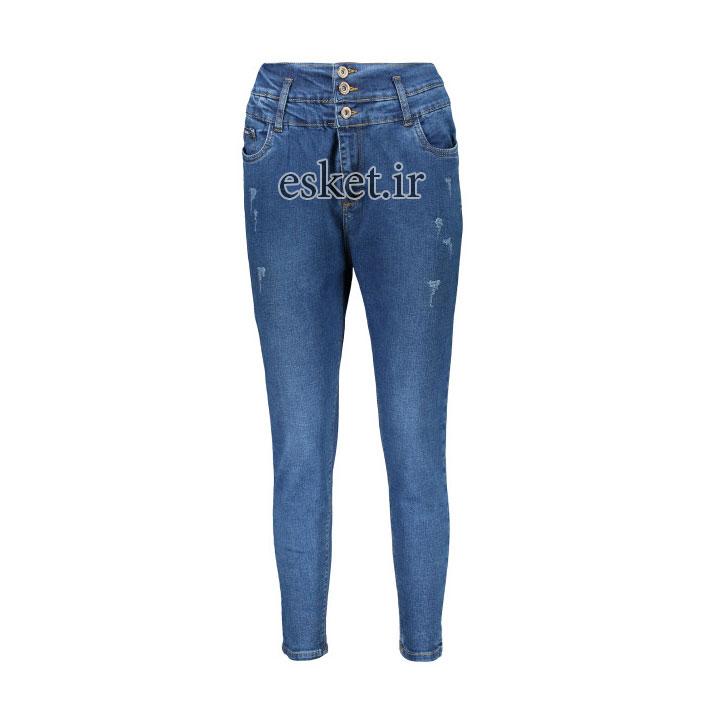 شلوار جین زنانه زیبا و جذاب مدل Z21