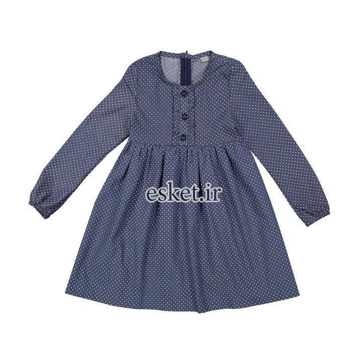 پیراهن دخترانه زیبا و شیک مدل P001