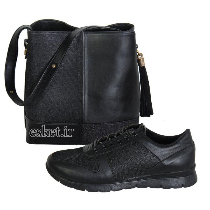 ست کیف و کفش زنانه زیبا کد 026
