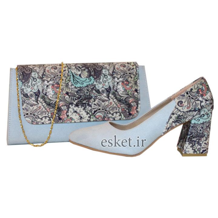 ست کیف و کفش زنانه زیبا کد 212
