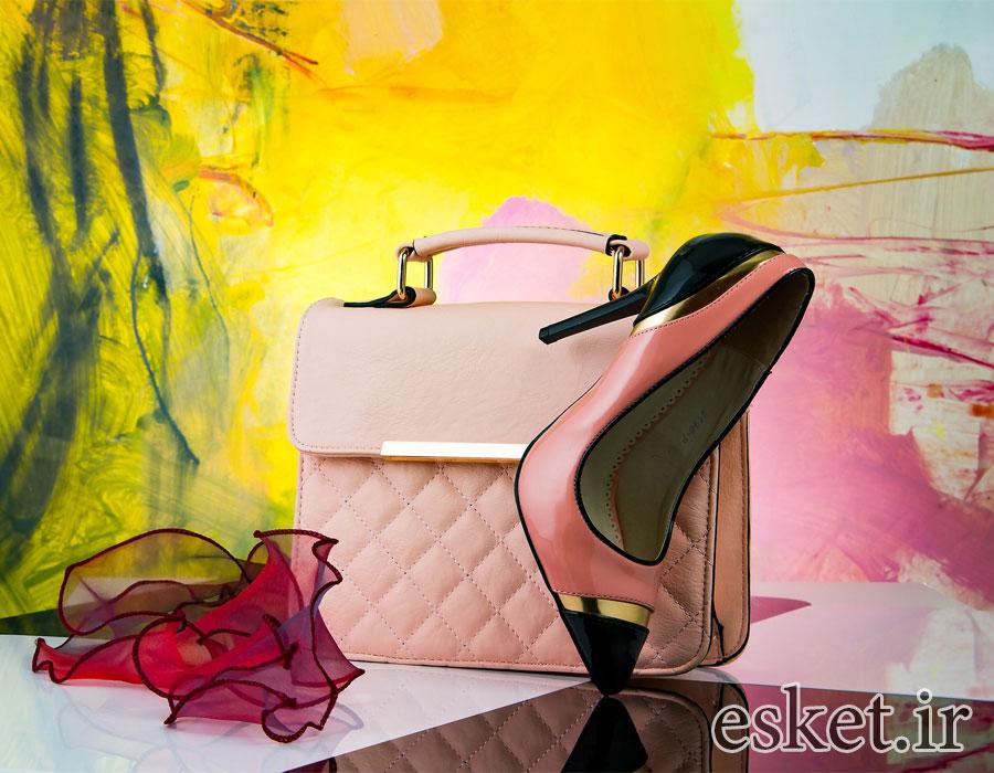 ست کیف و کفش زنانه زیبا