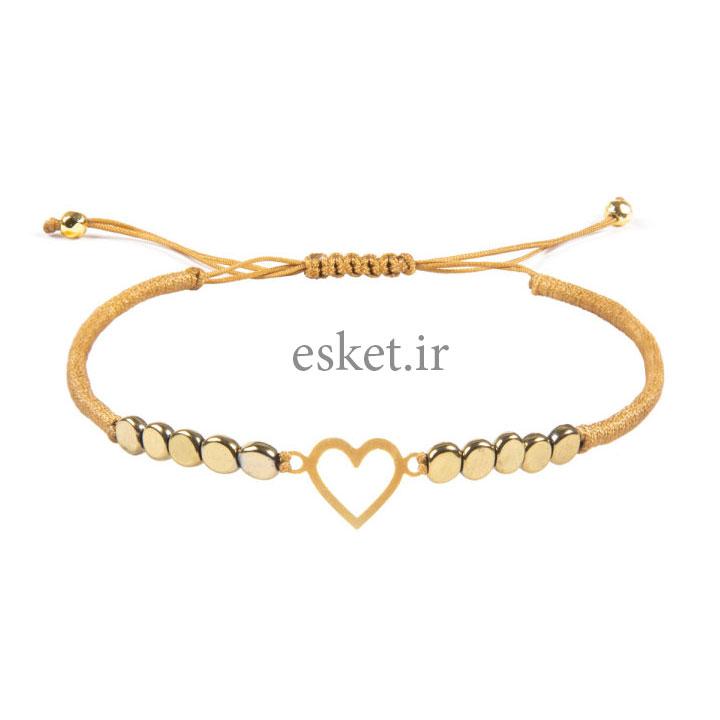 دستبند طلا 18 عیار زنانه ریسه گالری کد Ri3-H1176 - دستبند طلا زنانه زیبا
