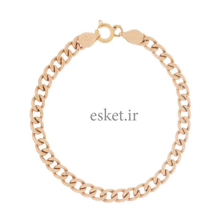دستبند طلا زنانه زیبا 18 عیار مایا ماهک مدل MB0962