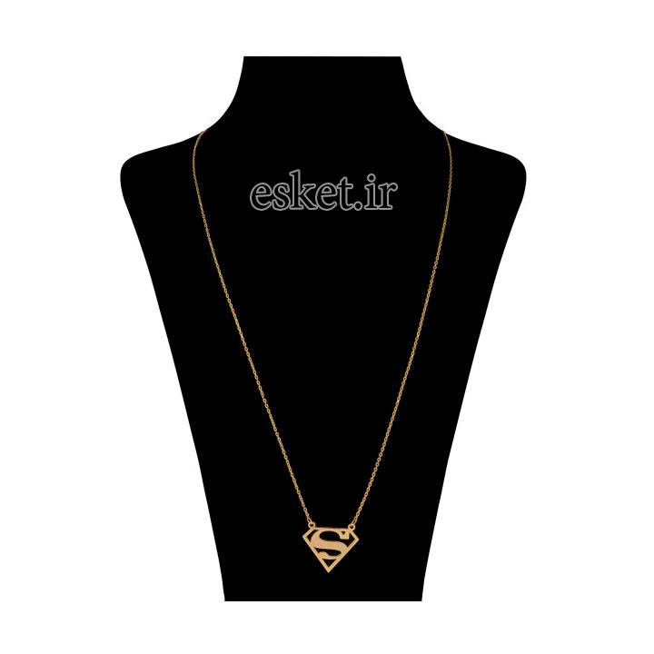 گردنبند طلا زنانه زیبا مایا ماهک مدل MM0990