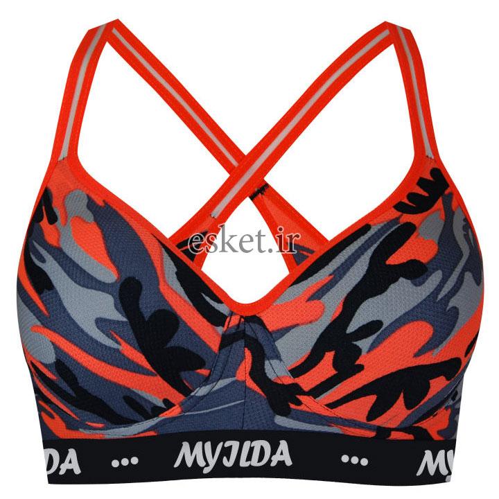 نیم تنه ورزشی زنانه ماییلدا مدل 3532-4 - تاپ و نیم تنه ورزشی زنانه ارزان